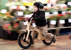 Balance bikes can jump start bike skills