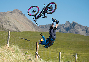Danny Macaskill crash