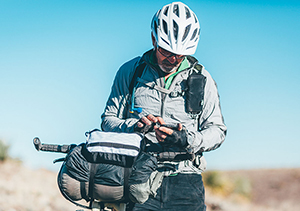 Bikepacking with a smartphone
