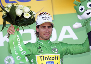 Can Peter Sagan win the green jersey in 2016?