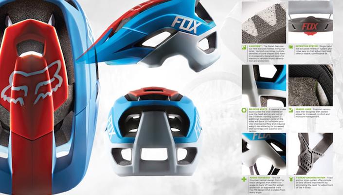 Fox Metah Helmet Tech Page