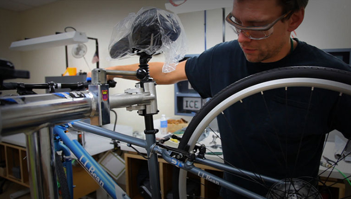 Safe Cycling includes routine maintenance