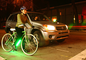 Safe Cycling at night