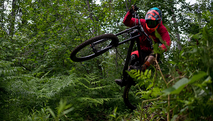 Fox Rampage Pro Carbon MIPS helmet review from the trail