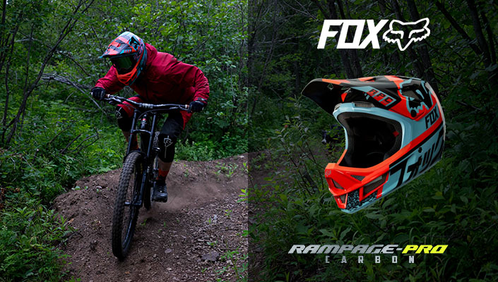 Ridden And Reviewed Fox Rampage Pro Carbon Mips Helmet