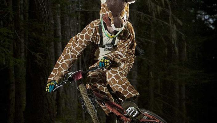 Kids bike, Giraffe costume, GoPro: everything you need to go at Crankworx Whistler