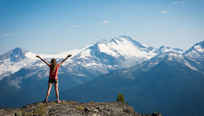 Experience beautiful Whistler BC
