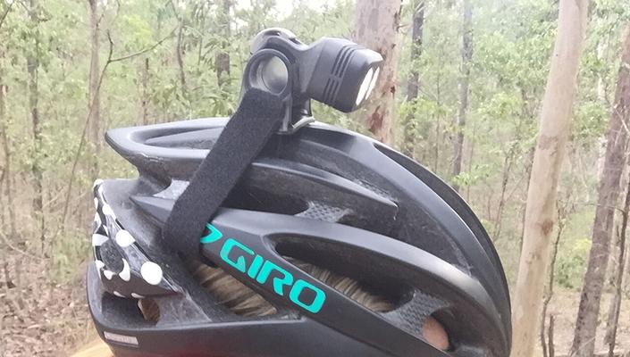Knog Bike Lights Blinder helmet mount