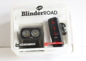 Knog Blinder Road Bike Light package