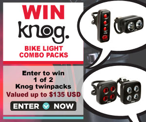 Knog Bike Lights Subscribe and Win Contest #2 by BikeRoar