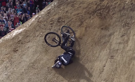 Brandon Semenuk Crash