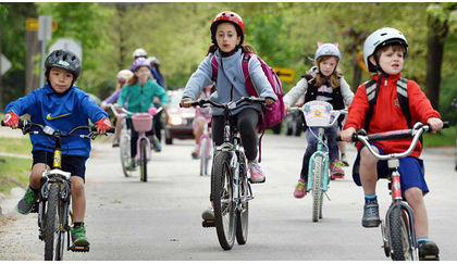 Your kid should bike to school - here's why and how