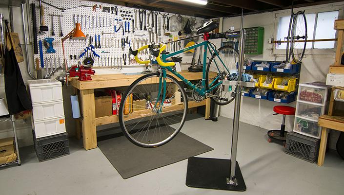 Home Bike Repair Shop