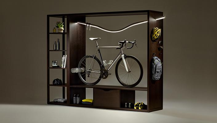 Vadolibero bike bookshelf / cabinet
