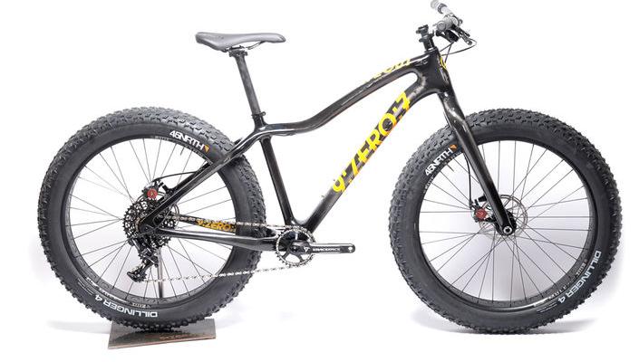9:ZERO:7 Carbon Whiteout GX-1 fatbike