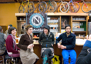 Bikes and Beer at Velo Cult