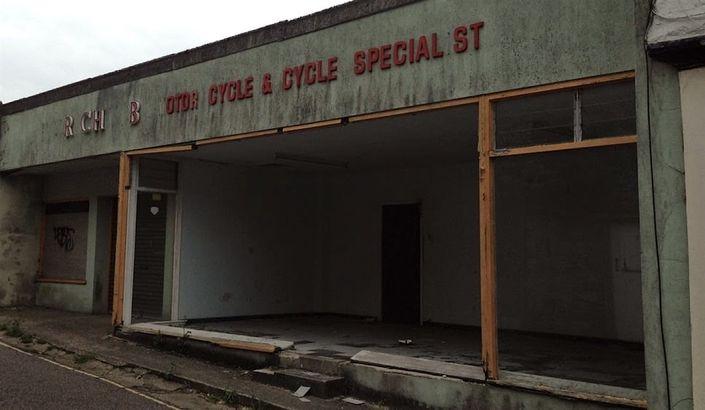 Abandoned Bike Shop