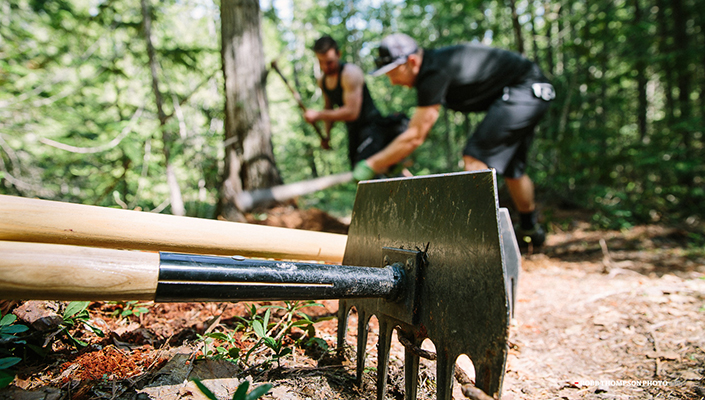 Fall is the best time to build trails and here's why