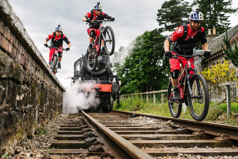 Danny MacASkill's 'Wee Day Out' via Red Bull