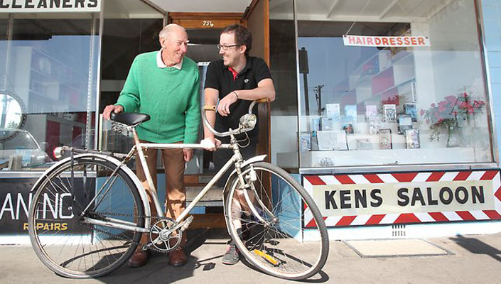 Riding Way makes friends, not just customers