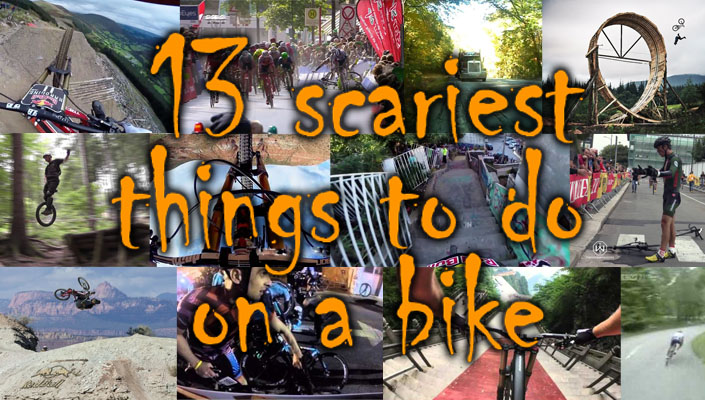 13 scariest things to do on a bicycle