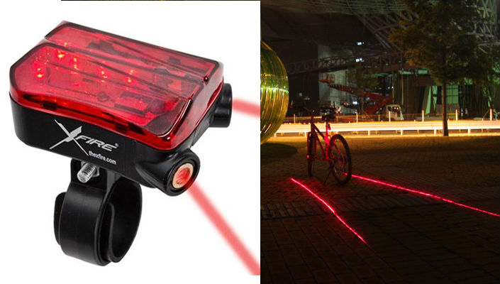 X-Fire Laser Bike Lane