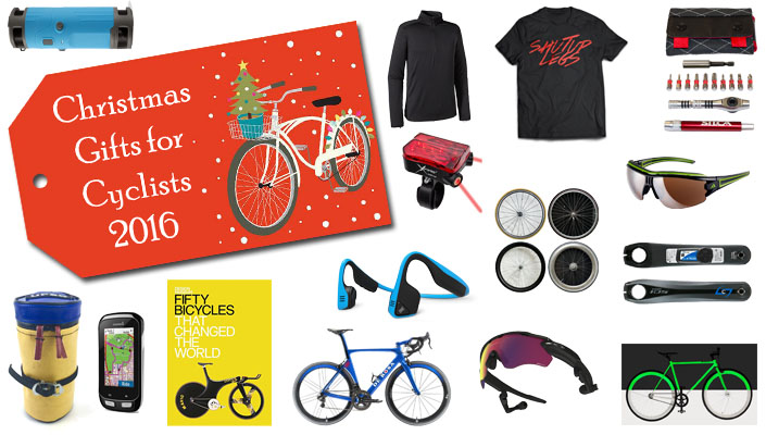 Christmas Gift ideas for cyclists 2016