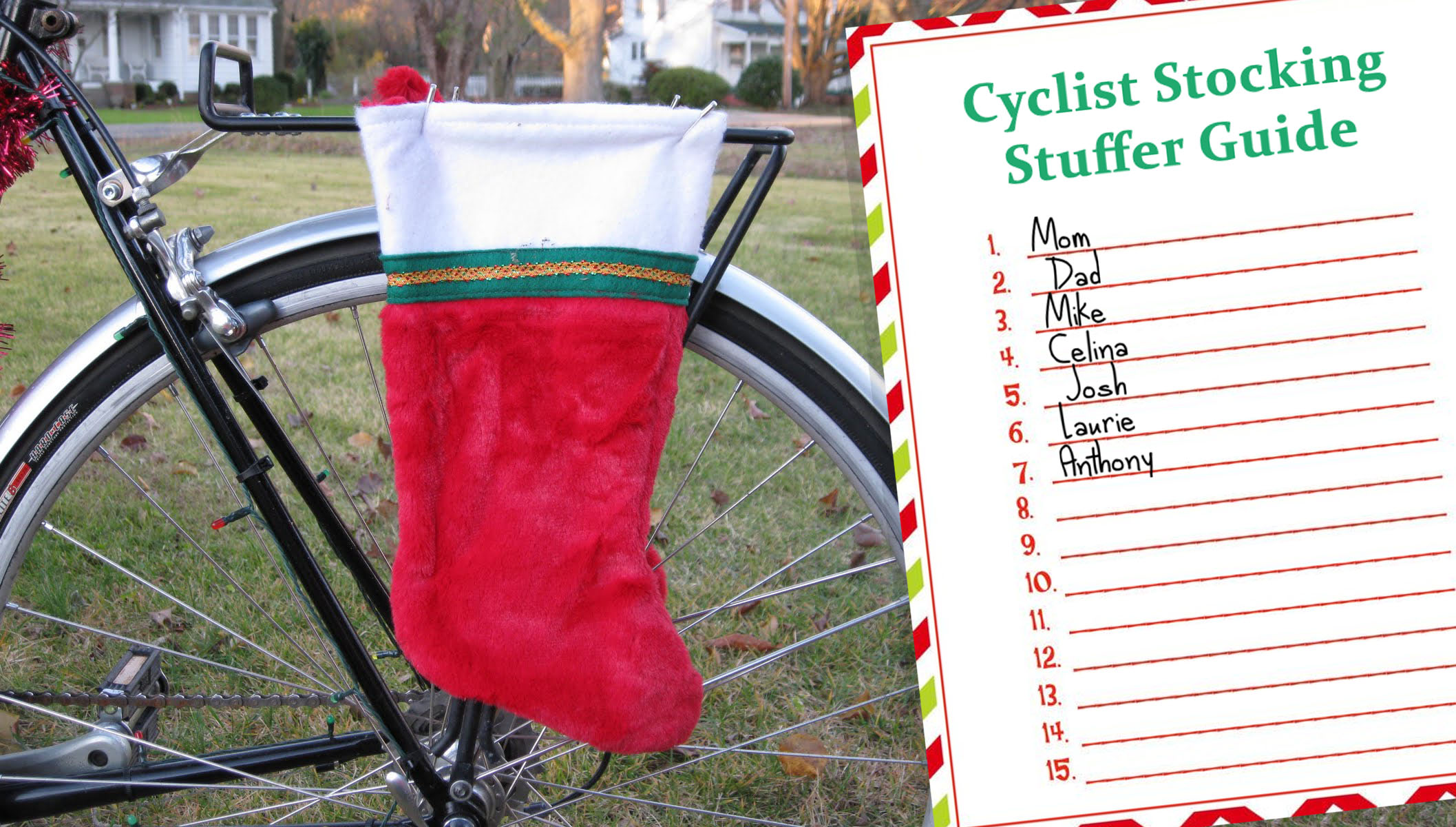 Cyclist stocking stuffer guide