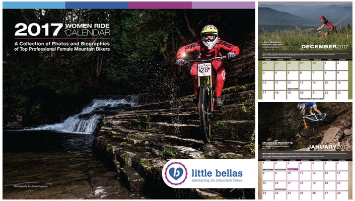 Little Bellas Bike Calendar