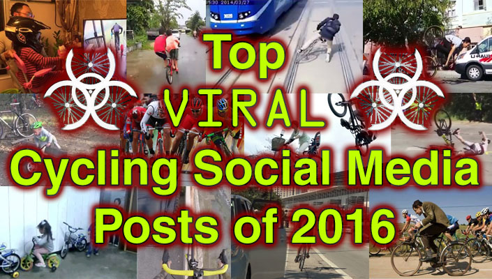 BikeRoar's Top Viral Cycling Social Media Posts of 2016