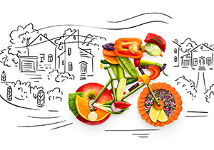 Vegetable Bike