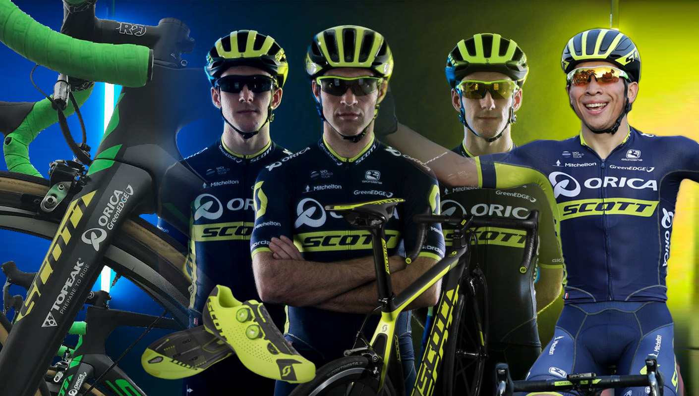 Orica-Scott Pro Cycling Team's Big Changes for 2017