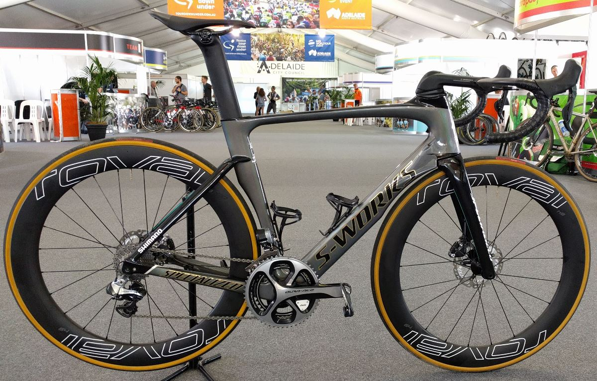 Peter Sagan's S-Works Venge ViAS Pro Disc at Tour Down Under