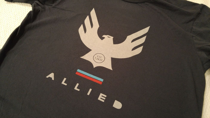 Allied Cycle Works T-Shirt - EST 1.24.17