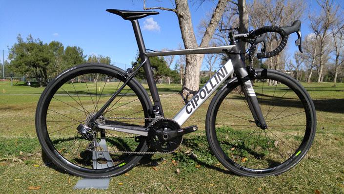 Cipollini MCM custom made carbon bike