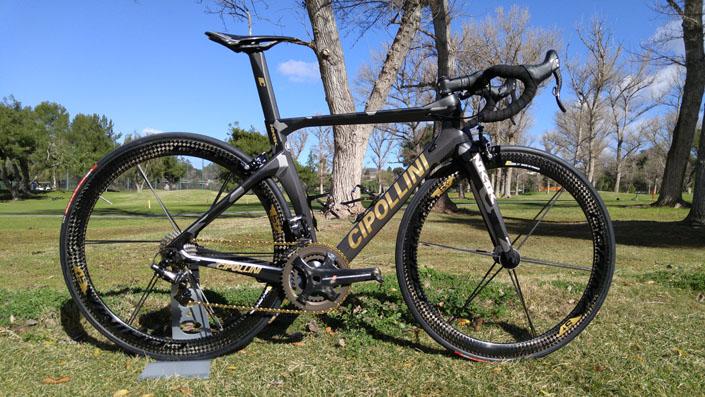 Cipollini NK1K Camouflage Grey Matte Gold Aero Bicycle