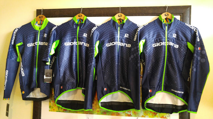 Giordana custom - for top pro teams and for your group, club, or team