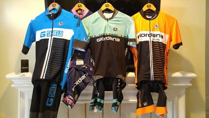 Giordana retail collections for all types of riding and weather