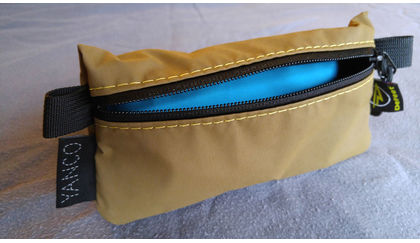 DeFeet Bespoke cycling pocket bag by YANKO