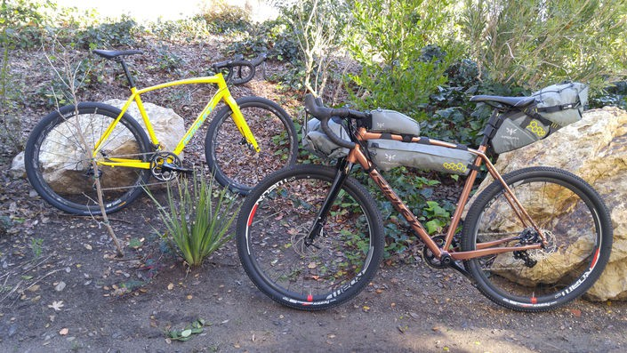 Ridley X-Trail Adventure carbon and alloy gravel bikes
