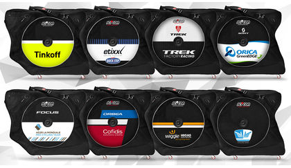 Scicon bike cases for pro cycling teams