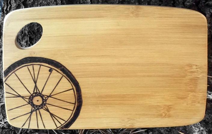 Bike Love Cutting Board