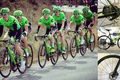 Cannondale drapac team rides supersix evo hi mod disc at ruta del sol