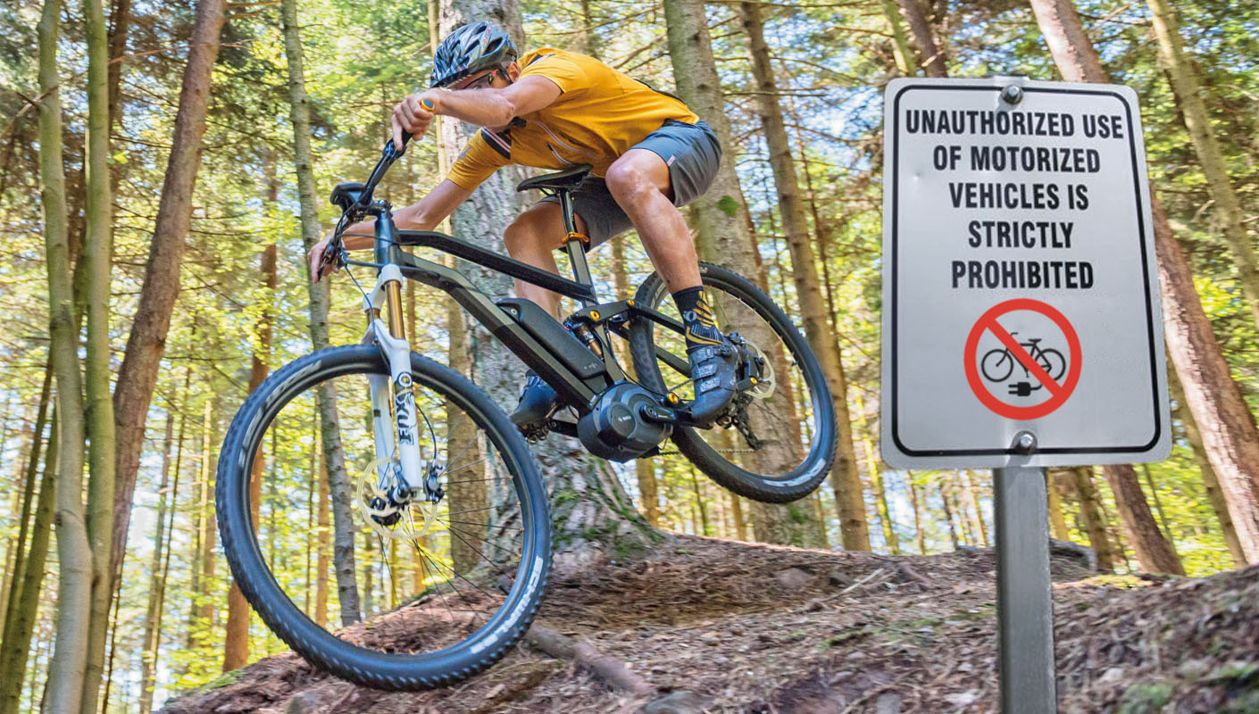 Trail Troubles E-Bike Controversy