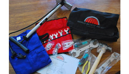 Field Mechanic Toolset by World Bicycle Relief