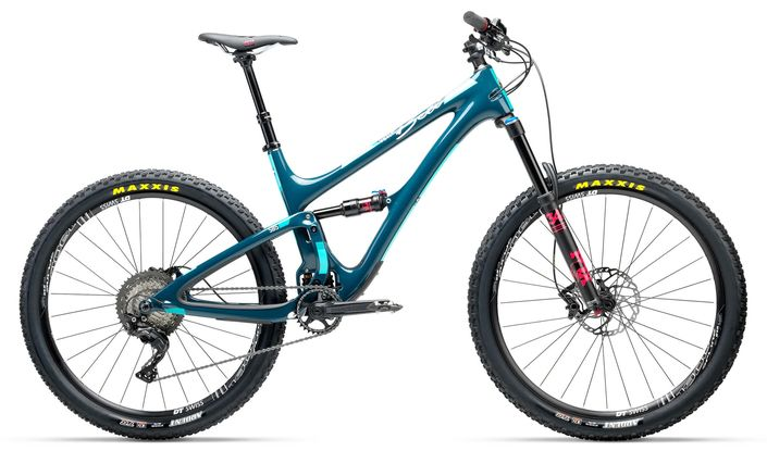 Yeti SB5 Beti gravity enduro bike - Compare XT/SLX and Eagle builds