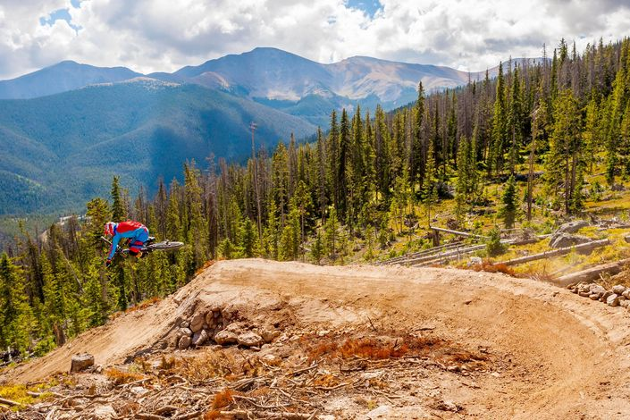 Switch up your riding at a bike park - via trestlebikepark.com