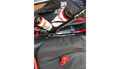 The Frame Guard is securely anchored to the base of the bag.