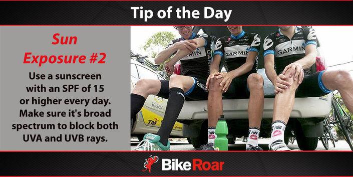 Sun Exposure #2 - Tip of the Day - BikeRoar