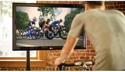 Ride or race with friends in Zwift world
